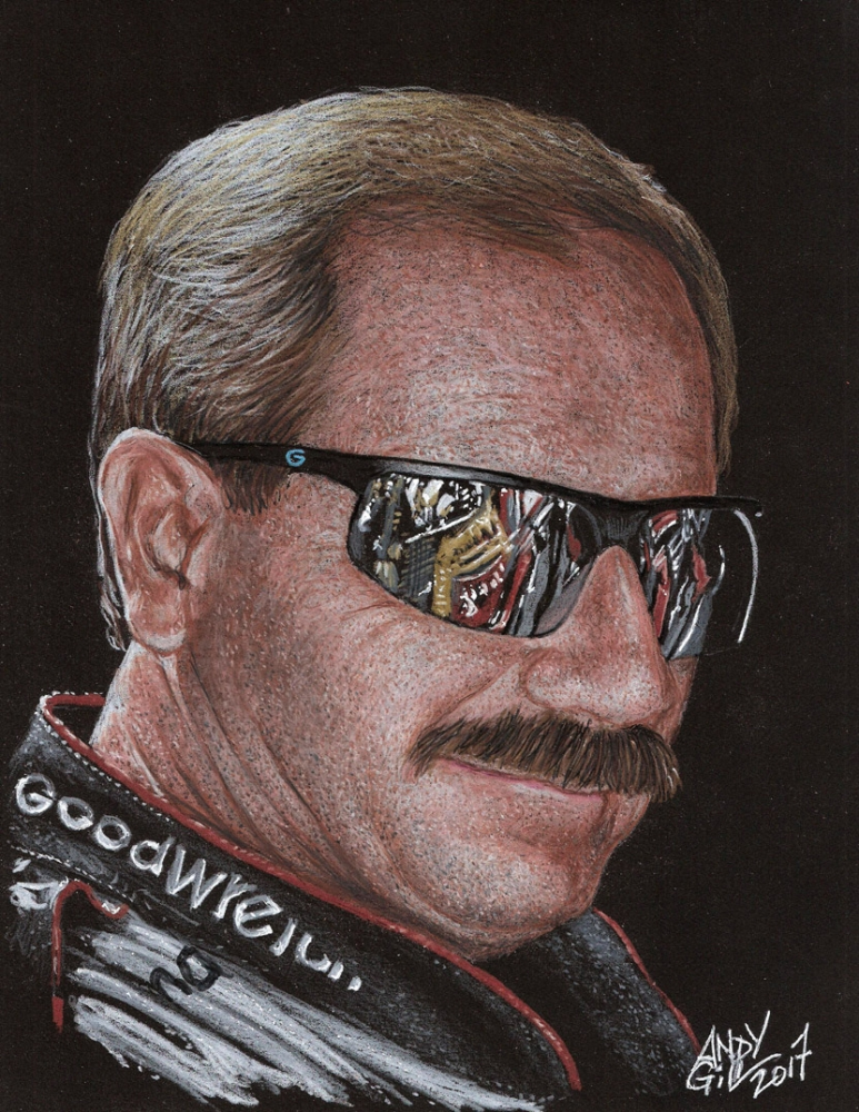 Dale Earnhardt by AndyGill